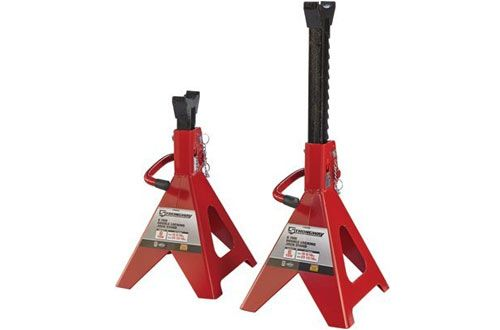 Strongway Double Locking Jack Stands Jack Stands Car Jack Lifted Cars