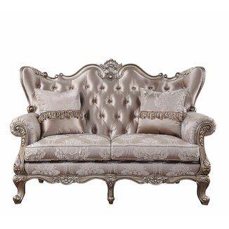 Astoria Grand Shivansh Loveseat Wayfair In 2021 Love Seat Rolled Arm Sofa Furniture