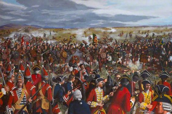 The Highland Charge of Drummossie Moor (The Battle of Culloden, 16 April 1746)