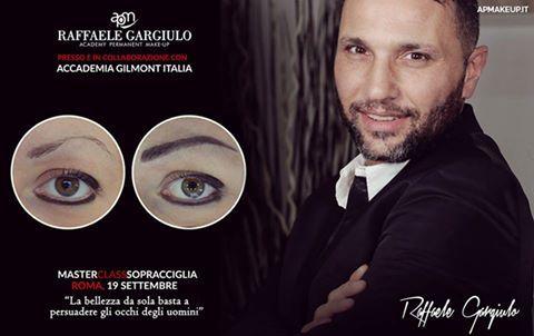 """Accademia Gilmont Italia: MASTER IN TRUCCO PERMANENTE - SOPRACCIGLIA 3D """"TEC..."""