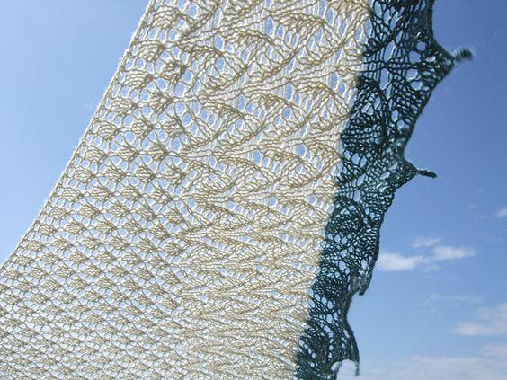 Ravelry: AdAstra Shawl pattern by Mia Dehmer / VickeVira