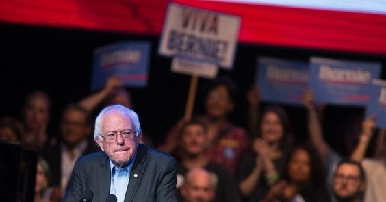 """CHEERS AS SANDERS UNVEILS 'MOST PROGRESSIVE' IMMIGRATION PLAN---Sen. Bernie Sanders (I-Vt.) on Tuesday unveiled an immigration plan to """"keep families together"""" and reform militarization of border communities, an announcement that rights activists heralded as """"the most detailed and progressive"""" blueprint from any U.S. 2016 presidential candidate."""