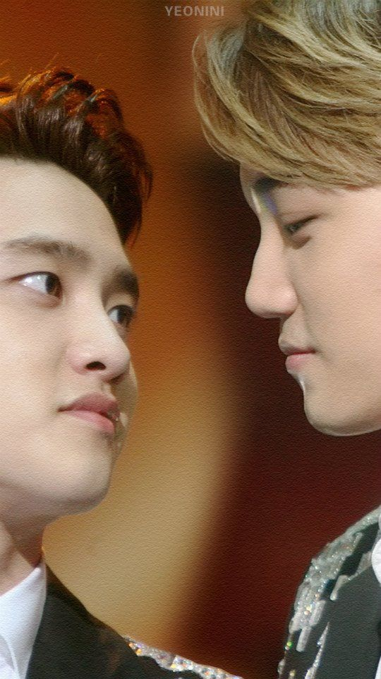 D.O. and Kai...I'll trade places with D.O. anytime!!!