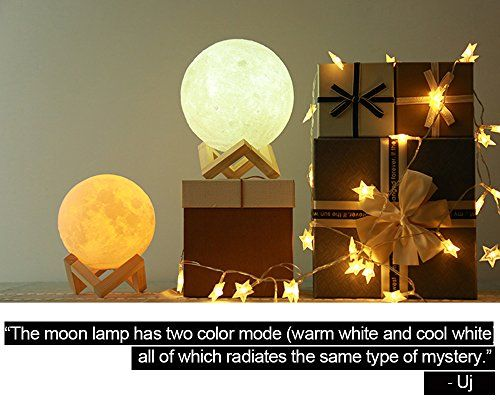 Aced Moon Lamp 3d Printed Led Moon Night Light Lamp Touch Control Ajustable Brightness Usb Recharge Seamless Lunar Moonli Night Light Lamp Lamp Light Lamp