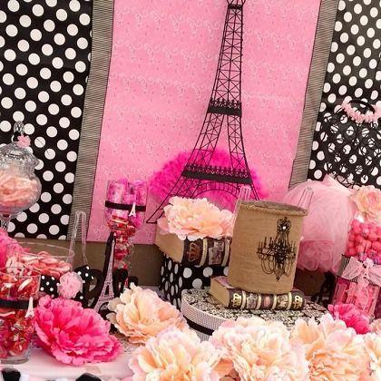 Birthday party ideas for kids par s fiesta parisina y - Decoracion party ...