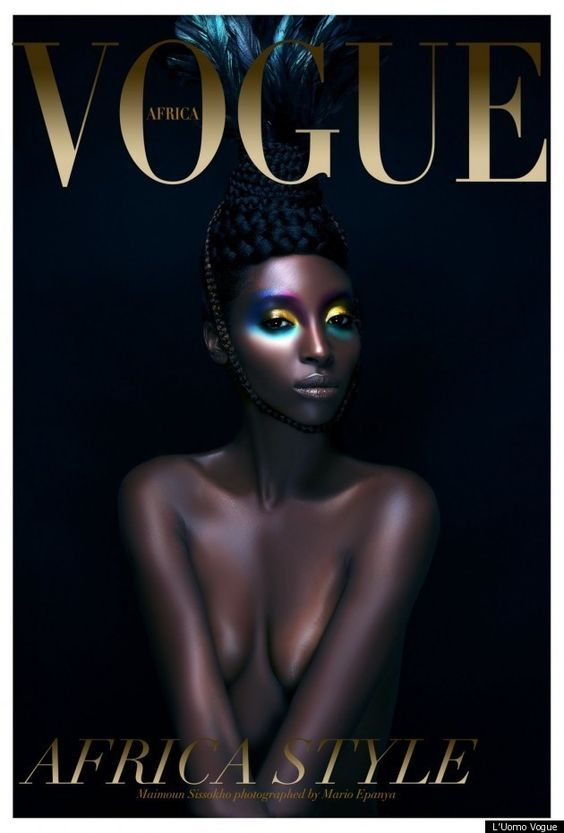 Franca Sozzani, Editor Of Vogue Italia, Working On Second Africa Themed L'Uomo Vogue Issue