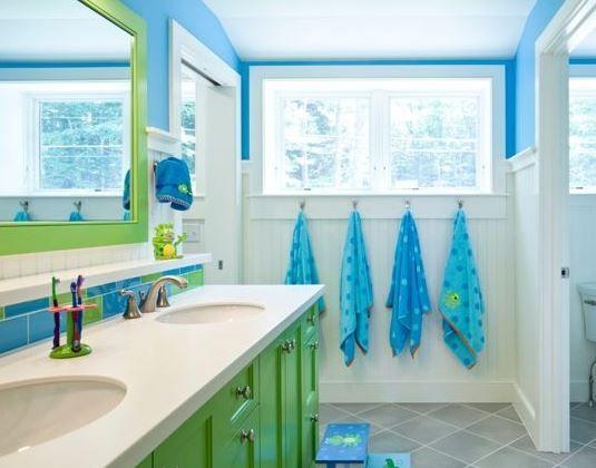100 Best Beach Bathroom Decorations 2020 Bathroom Kids Green