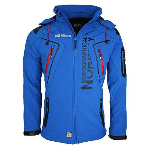 Geographical Norway Herren Softshell Funktions Outdoor Jacke