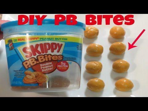 DIY Jiffy Peanut Butter Bites - Recipe for a Healthier Version!