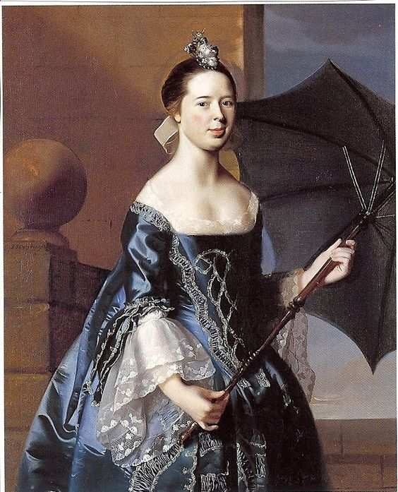 1763 John Singleton Copley 1738-1815 Mary Tappan Mrs Benjamin Pickman Yale: