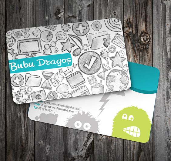 Business card  by ~DragosBubu