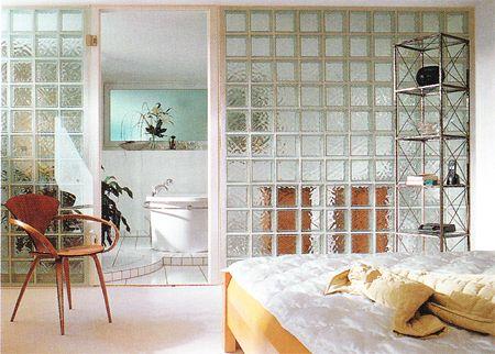 Glass blocks wall crafts wall art pinterest - Glass block windows in living room ...