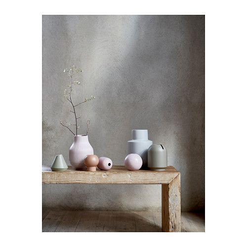 pastel vases, new from Ikea