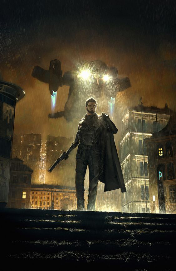 Deus Ex: Mankind Divided, Frédéric Bennett on ArtStation at https://www.artstation.com/artwork/ZOqk0