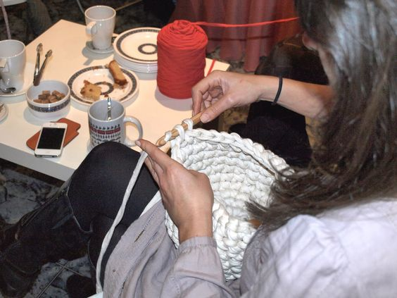 Talleres Puntobobo, aprender a tejer!