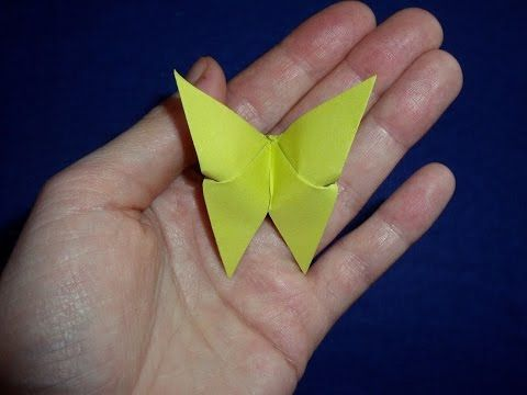 Jak Zrobic Motyla Origami How To Make An Origami Butterfly Youtube Origami Butterfly Origami Origami Techniques