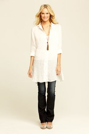 Marlene Solid Shirt::VIEW ALL::SHIRTS & TOPS::CLOTHING::Calypso St. Barth