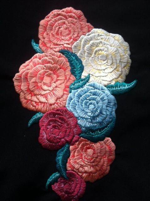 Floral Floral flowers and Embroidery designs on Pinterest