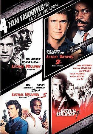 Warner Home Video 4 Film Favorites: Lethal Weapon