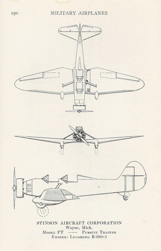 Military Airplanes Airplane Diagram Aviation by VintageButtercup, $10.00