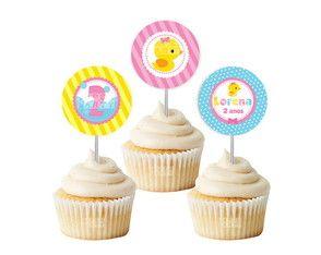 Topper Cupcake 4cm - Patinha
