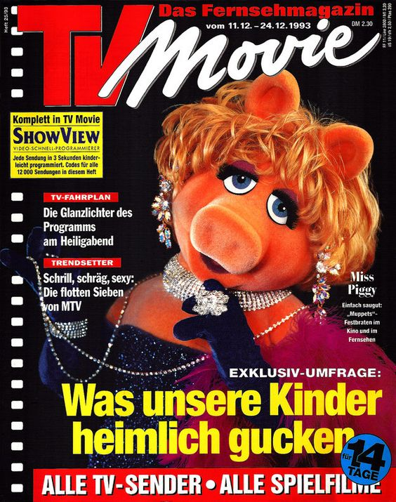 Her popularity transcends America. Everyone wants a piece of this feminist icon. | 27 Reasons Miss Piggy Is The Ultimate Feminist Icon