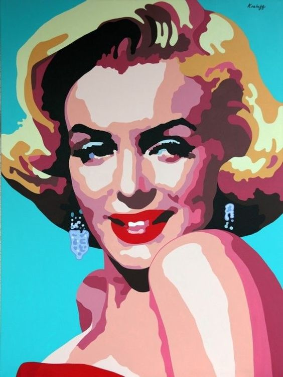 Marilyn Monroe - Advanced Graphics, Martin Kreloff.