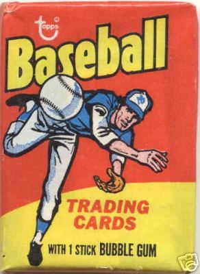 Image result for baseball card and bubble gum