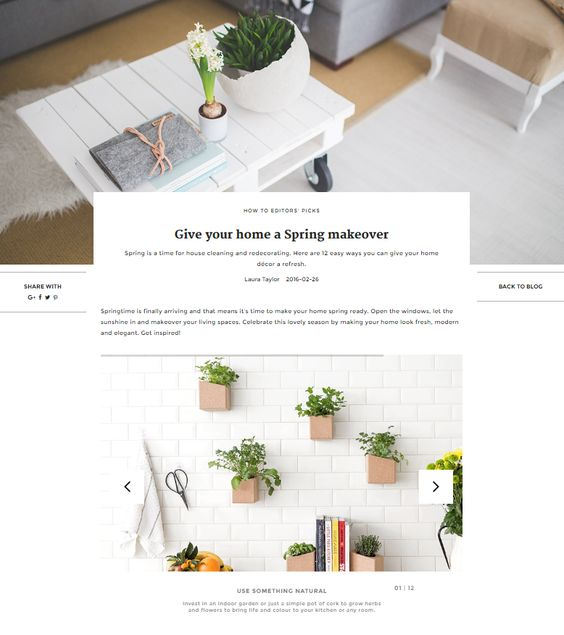 Give your home a Spring makeover | UNIKSTORE Blog