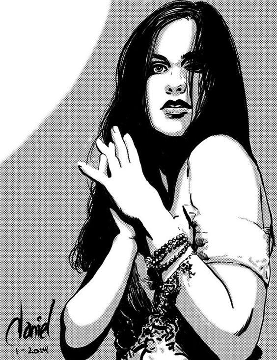 Quick Ink Studies by Daniel Presedo, via Behance