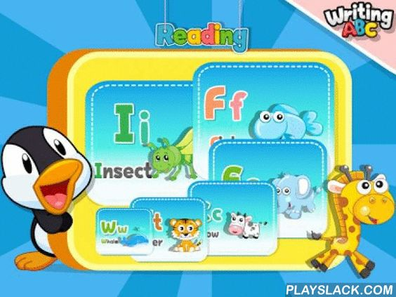 Read Write ABC  Android App - playslack.com , This is finger writing application intended to teach to recognize and practice writing English alphabet. To prepare the child for transition from preschool to primaryschool. - A special mechanism that provides writing of each alphabet in the correct order suggested by stars animation.- Writing, listening and reading English alphabets at the same time.- The full screen lets you write with your finger easily and comfortably.- Tracing of writing is…