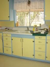 Image result for yellow kitchen