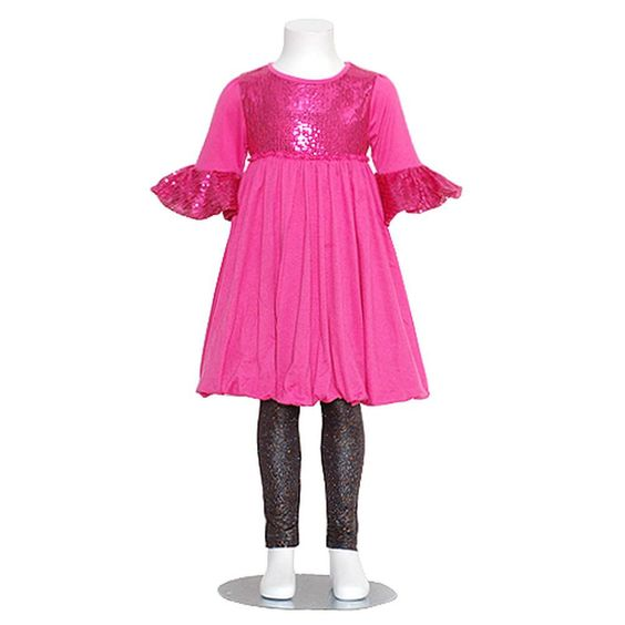 What an adorable outfit for your little girl from the designer ...
