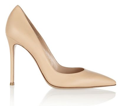 High heels, in nude, are the perfect heel from day to night. | The TOTEFISH Blog