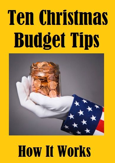 The economy may be in a slump, but that's no reason not to enjoy the Christmas holidays. Making a realistic budget plan for Christmas can enhance your enjoyment of the holiday season, and avoid months of debt. Here are some budget tips that can help... learn more - http://givingtoyou.com/christmas-budget