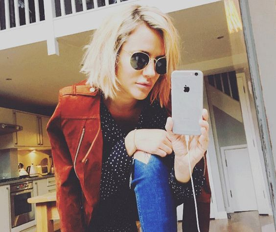 Caroline Flack's been bringing some serious attitude to her new short hair