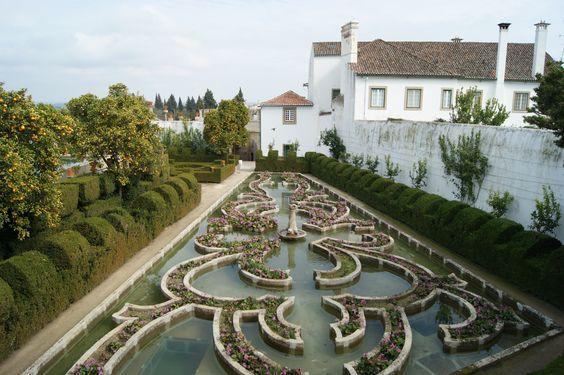 Jardim do Paço Episcopal, Castelo Branco Portugal