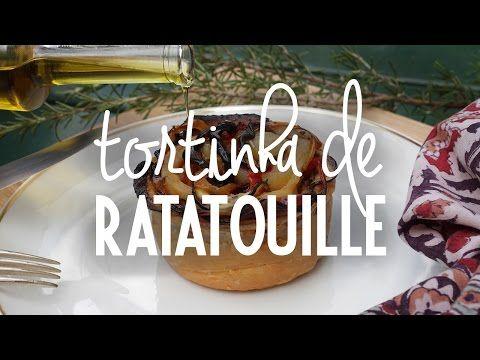 Tortinha de Ratatouille | Rendez-vous en Provence - YouTube