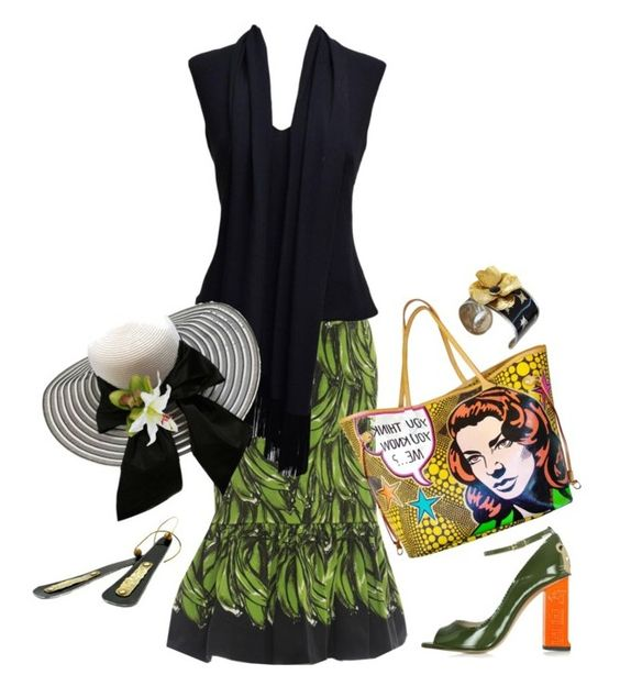 """""""VINTAGE SUMMER"""" by melange-art ❤ liked on Polyvore featuring Louis Vuitton, Camilla Elphick, Maserati and vintage"""