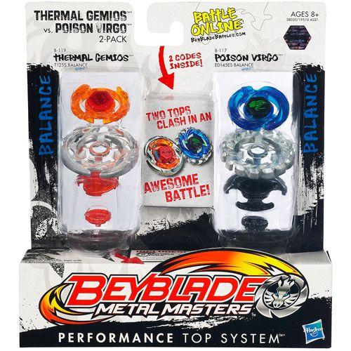 Beyblade thermal gemios