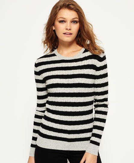 Superdry Luxe Mini Cable Jumper