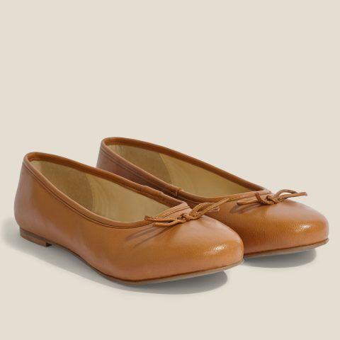Inextenso Baleriny Skorzane Z Fantazyjna Kokarda Bezowy Inextenso By Auchan Loafers Shoes Fashion