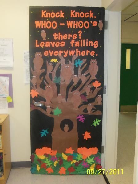 Classroom Door Decoration Ideas For Halloween ~ Bulletin boards halloween door decorations and fall