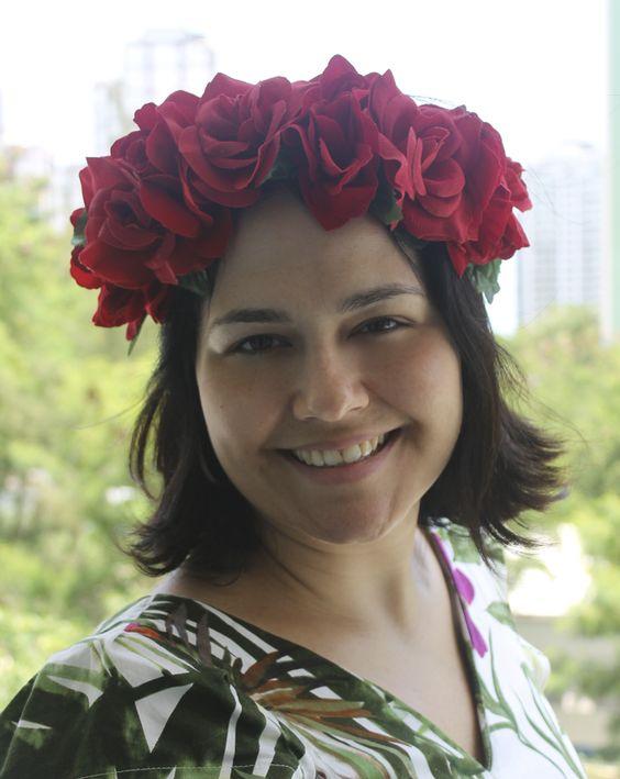 Maxi Coroa de Rosas Vermelhas http://www.elo7.com.br/maxi-coroa-de-rosas-vermelhas/dp/4B41F6