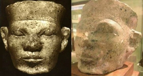 Pharaoh Narmer, also known as Pharaoh Menes, unified Upper and Lower Egypt and, therefore, founded the first dynasty of a unified Kamit (Ancient-Egypt.