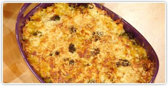 Rachael Ray Show chicken and crouton casserole