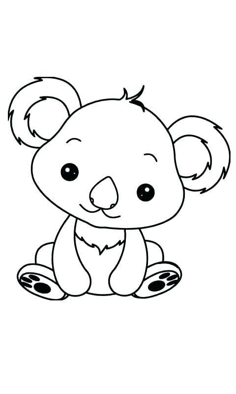 Dibujo De Koalas Para Colorear Y Pintar Dibujos De