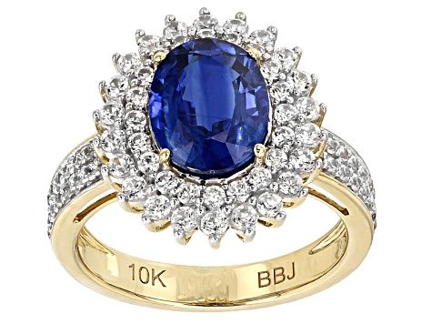 Meet Your New Favorite Blue Kyanite 10k Yellow Gold Ring 3 70ctw Jtv Offers Exceptional Quality And Value With This Gold Rings Blue Kyanite Yellow Gold Rings