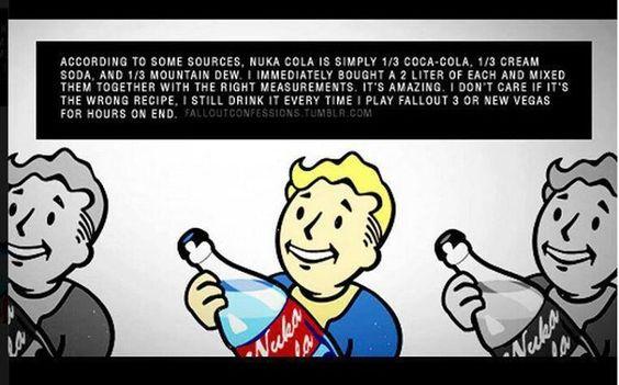 fallout nuka cola recipe!