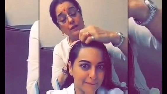 How sweet is this video of Sonakshi Sinha with mother, Poonam Sinha singing a classic!  Make sure to check it out now :D